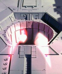 Proton torpedos entering Death Star thermal exhaust port